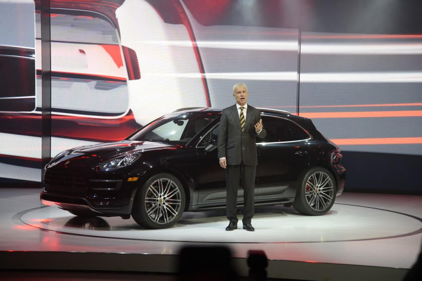 Porsche Macan SUV unveiled in LA with up to 400 hp Image #212525