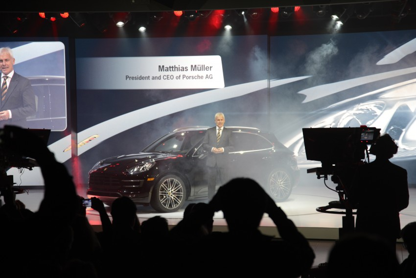 Porsche Macan SUV unveiled in LA with up to 400 hp Image #212526