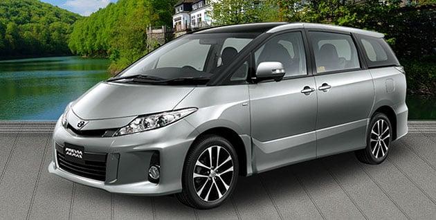 Toyota Previa 2 4 Open For Booking Finally An Estima