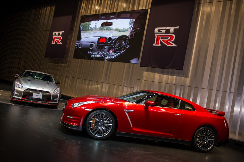 2014 Nissan GT-R facelift unveiled in Tokyo with updated suspension and looks Image #212267