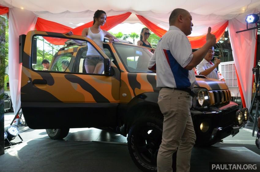 Suzuki Jimny launched in Malaysia, RM87k-92k Image #209357
