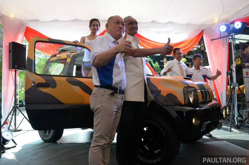 Suzuki Jimny launched in Malaysia, RM87k-92k Image #209358