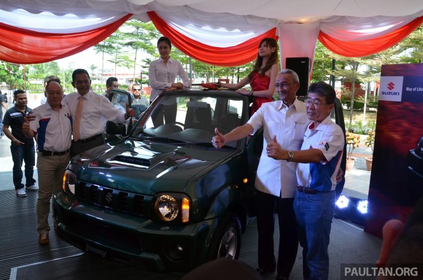 Suzuki Jimny launched in Malaysia, RM87k-92k Image #209366