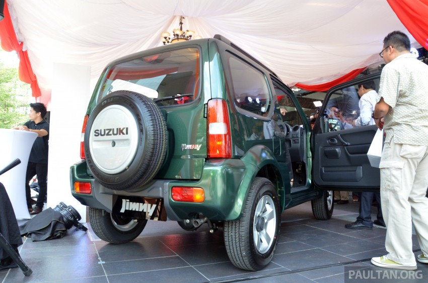 Suzuki Jimny launched in Malaysia, RM87k-92k Image #209371