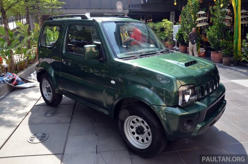 Suzuki Jimny launched in Malaysia, RM87k-92k Image #209380