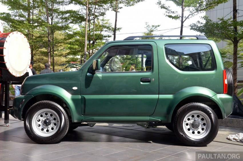 Suzuki Jimny launched in Malaysia, RM87k-92k Image #209382