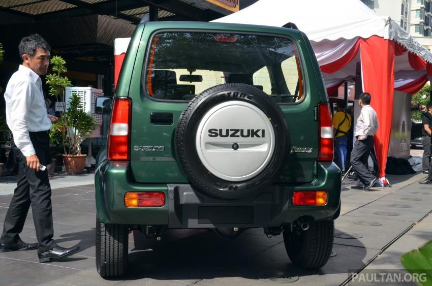 Suzuki Jimny launched in Malaysia, RM87k-92k Image #209384