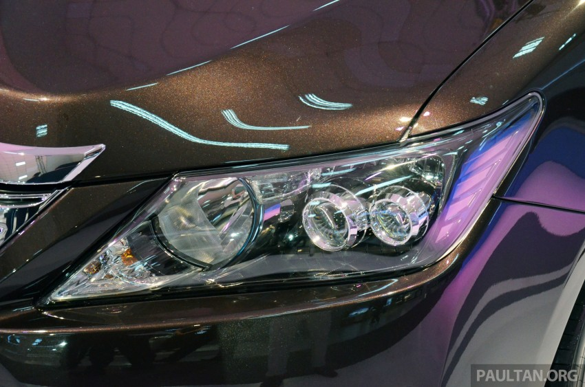 Toyota Camry Hybrid previewed at KLIMS13 Image #209612