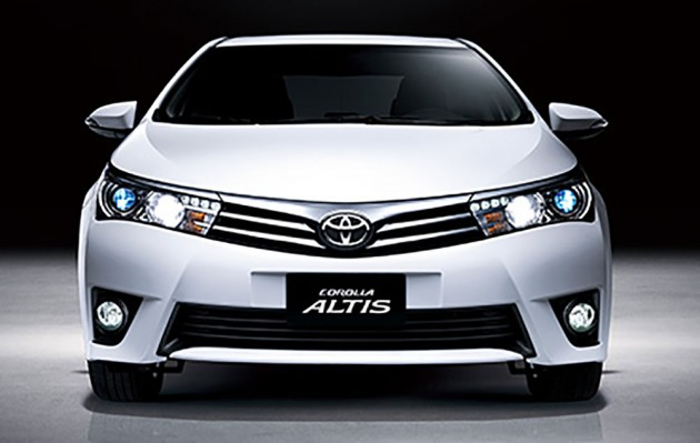 2014 toyota corolla altis malaysian specs teased by umw toyota. Black Bedroom Furniture Sets. Home Design Ideas