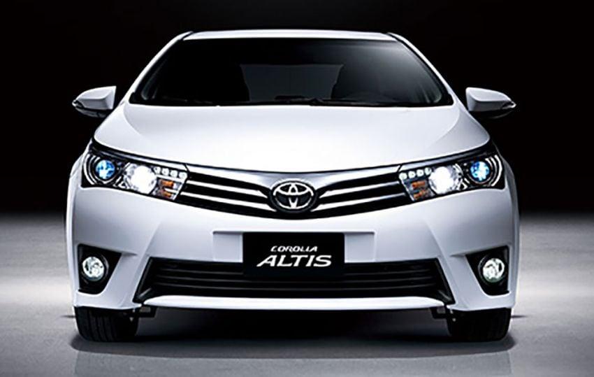 2014 Toyota Corolla Altis coming to Malaysia soon Image #207743