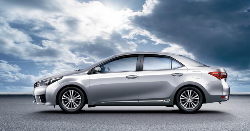 2014 Toyota Corolla Altis coming to Malaysia soon Image #207763