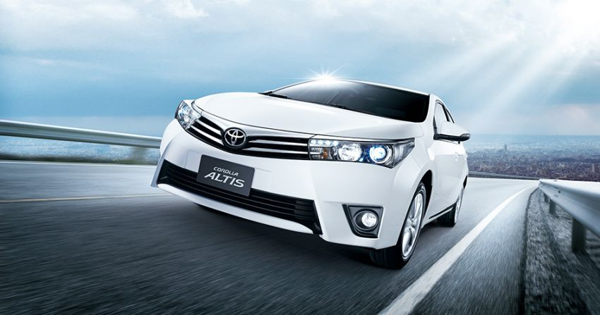 2014 Toyota Corolla Altis coming to Malaysia soon Image #207764
