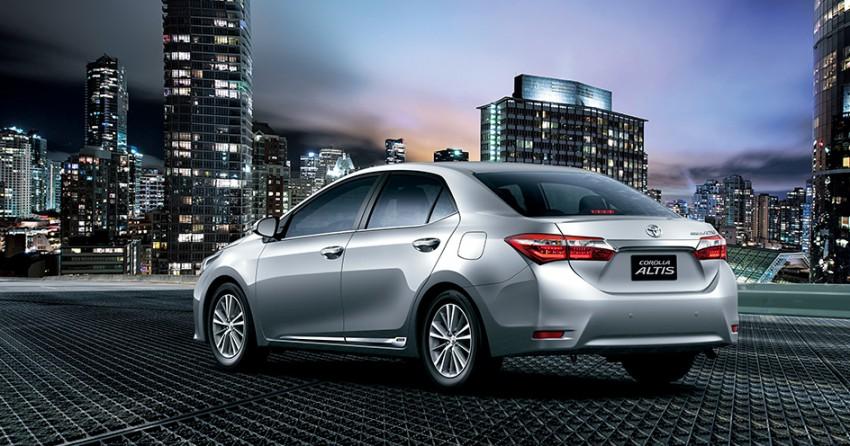 2014 Toyota Corolla Altis coming to Malaysia soon Image #207766
