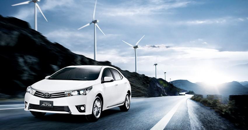 2014 Toyota Corolla Altis coming to Malaysia soon Image #207768