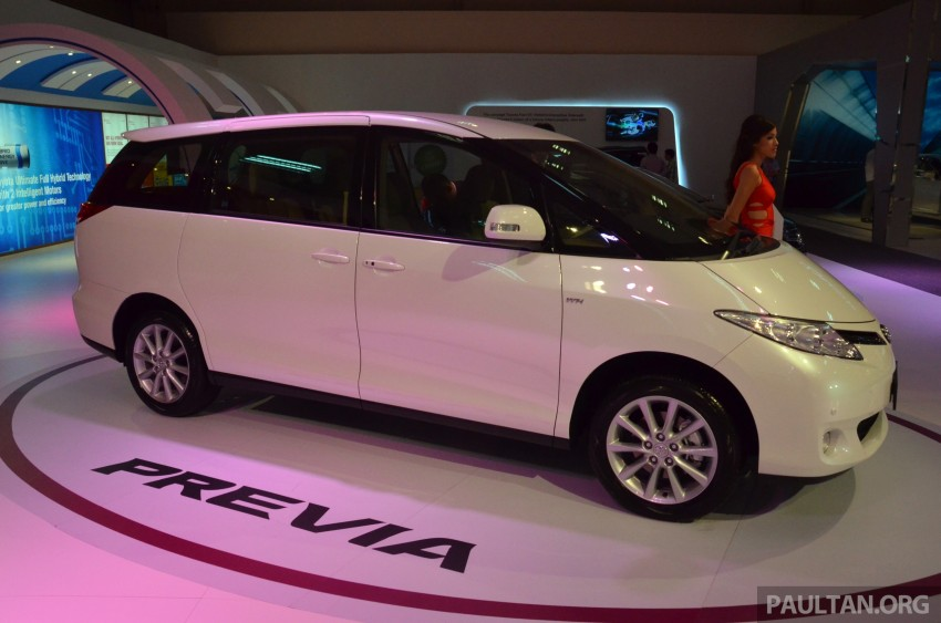 Toyota Previa (Estima) appears at KLIMS13 – RM270k Image #209530