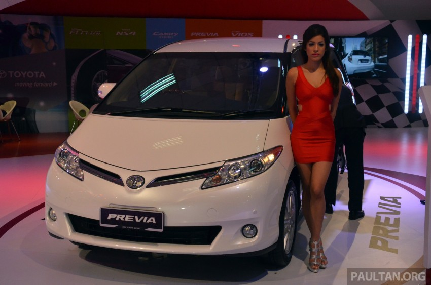 Toyota Previa (Estima) appears at KLIMS13 – RM270k Image #209531