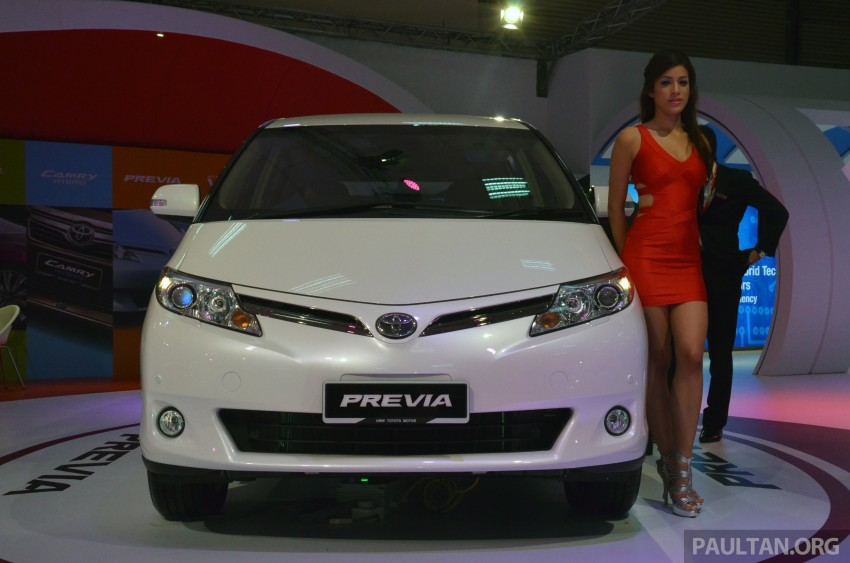 Toyota Previa (Estima) appears at KLIMS13 – RM270k Image #209532