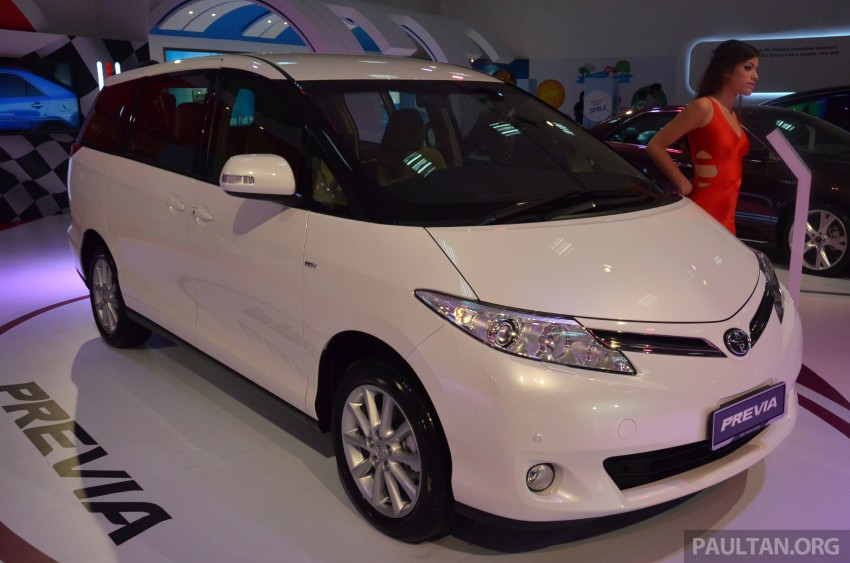 Toyota Previa (Estima) appears at KLIMS13 – RM270k Image #209535