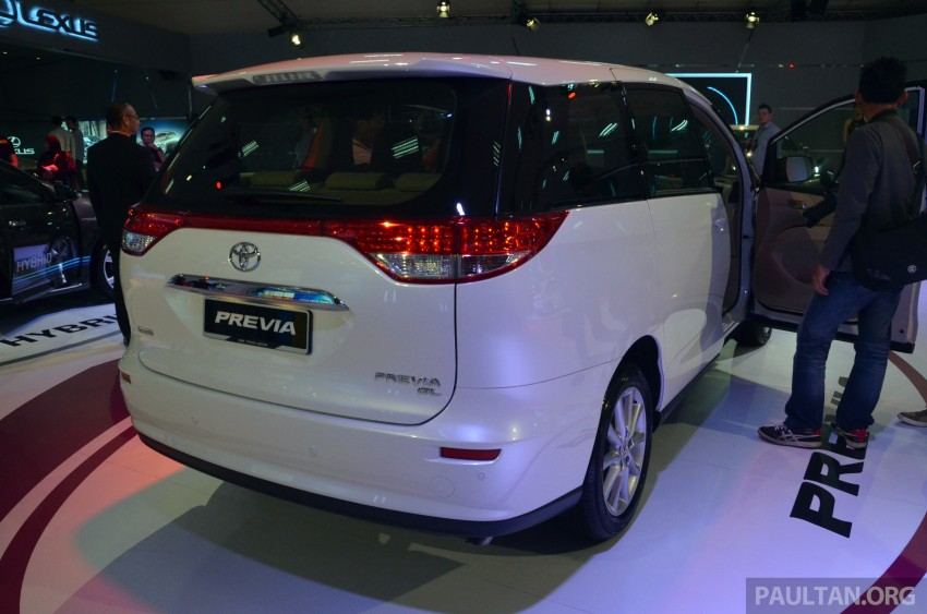 Toyota Previa (Estima) appears at KLIMS13 – RM270k Image #209537