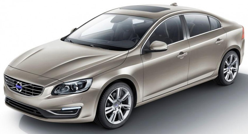 Volvo S60L unveiled in Guangzhou, 80-mm longer WB Image #213907