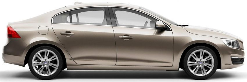 Volvo S60L unveiled in Guangzhou, 80-mm longer WB Image #213908