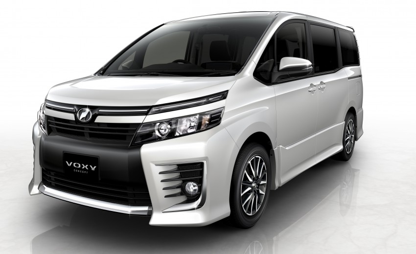 2014 Toyota Noah and Voxy previewed at Tokyo 2013 Image #213046