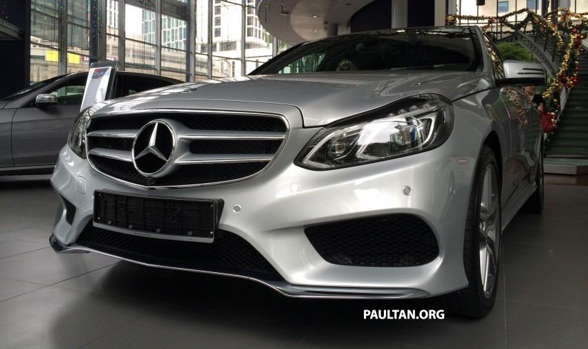 Mercedes-Benz E400 CKD now in Malaysia – RM494k Image #214888