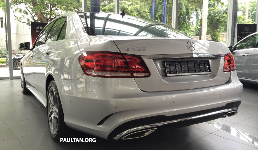 Mercedes-Benz E400 CKD now in Malaysia – RM494k Image #214893