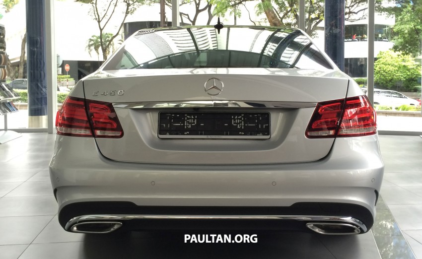 Mercedes-Benz E400 CKD now in Malaysia – RM494k Image #214894