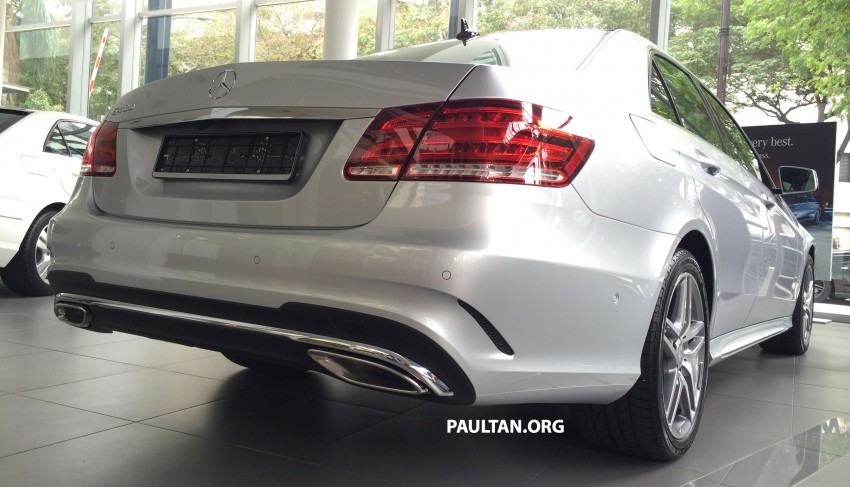 Mercedes-Benz E400 CKD now in Malaysia – RM494k Image #214895