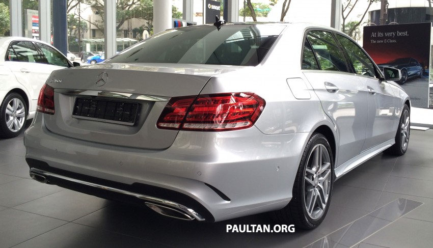 Mercedes-Benz E400 CKD now in Malaysia – RM494k Image #214896