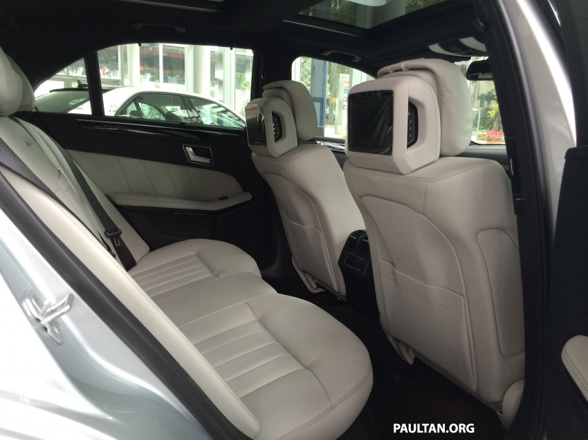 Mercedes-Benz E400 CKD now in Malaysia – RM494k Image #214897