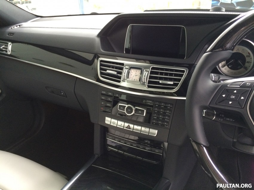 Mercedes-Benz E400 CKD now in Malaysia – RM494k Image #214898