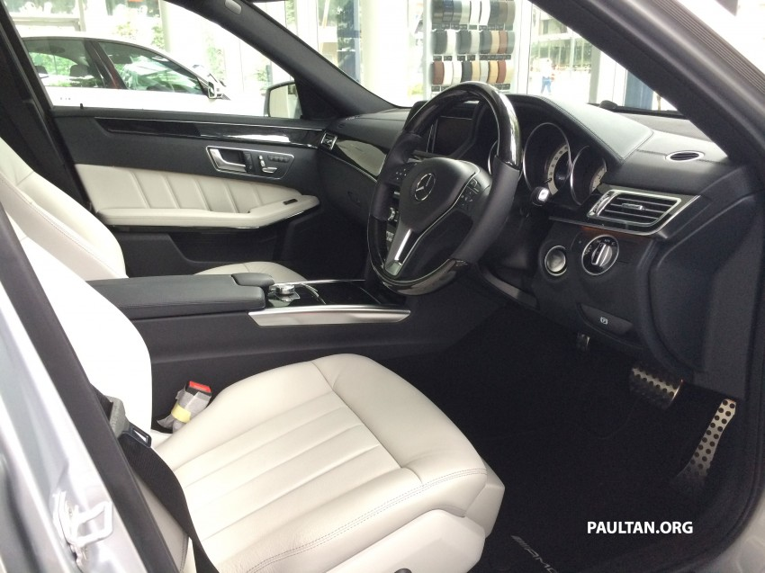 Mercedes-Benz E400 CKD now in Malaysia – RM494k Image #214899