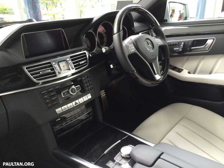Mercedes-Benz E400 CKD now in Malaysia – RM494k Image #214905
