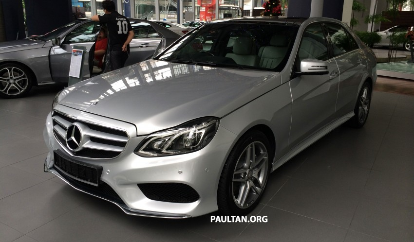 Mercedes-Benz E400 CKD now in Malaysia – RM494k Image #214883