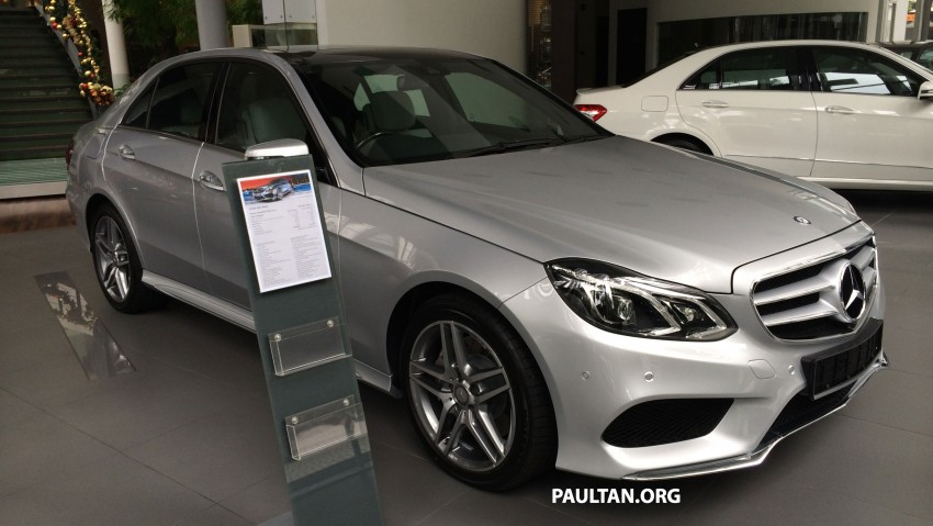 Mercedes-Benz E400 CKD now in Malaysia – RM494k Image #214884