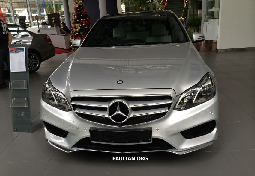 Mercedes-Benz E400 CKD now in Malaysia – RM494k Image #214885