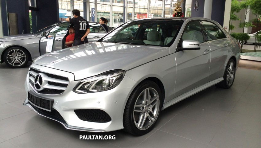 Mercedes-Benz E400 CKD now in Malaysia – RM494k Image #214886