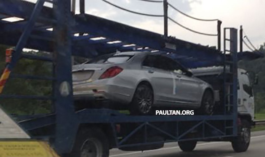 W222 Mercedes-Benz S400 Hybrid spotted in Malaysia Image #208949