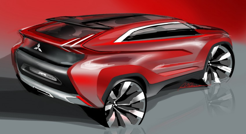 Tokyo 2013 – Mitsubishi Concept XR-PHEV Image #212805
