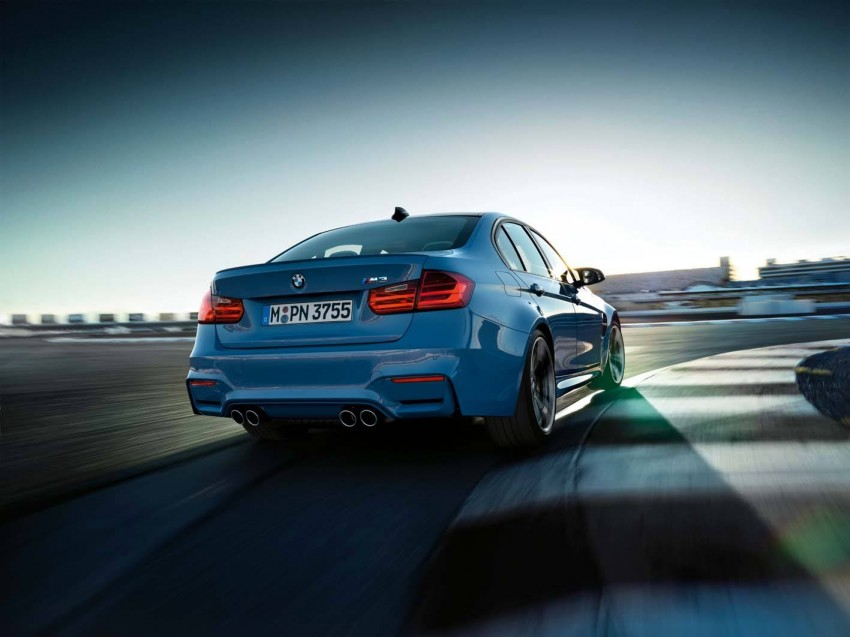 BMW M3 Sedan and M4 Coupe – full official details Image #217600