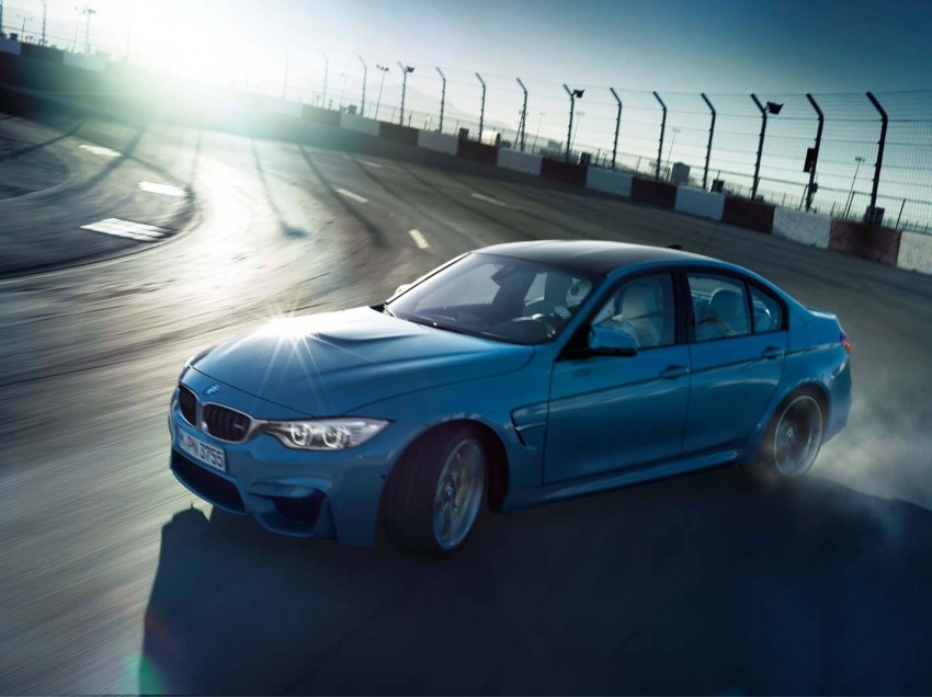 BMW M3 Sedan and M4 Coupe – full official details Image #217601