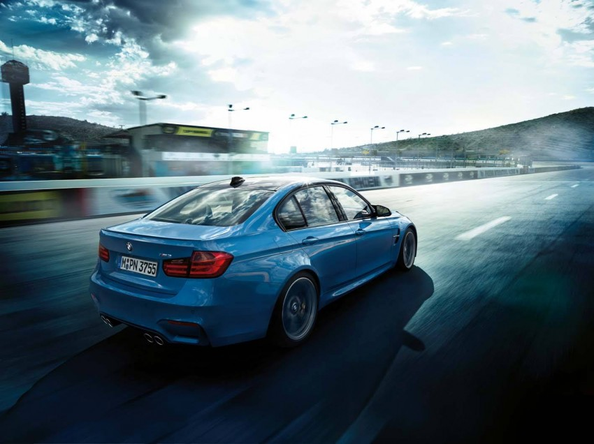 BMW M3 Sedan and M4 Coupe – full official details Image #217596
