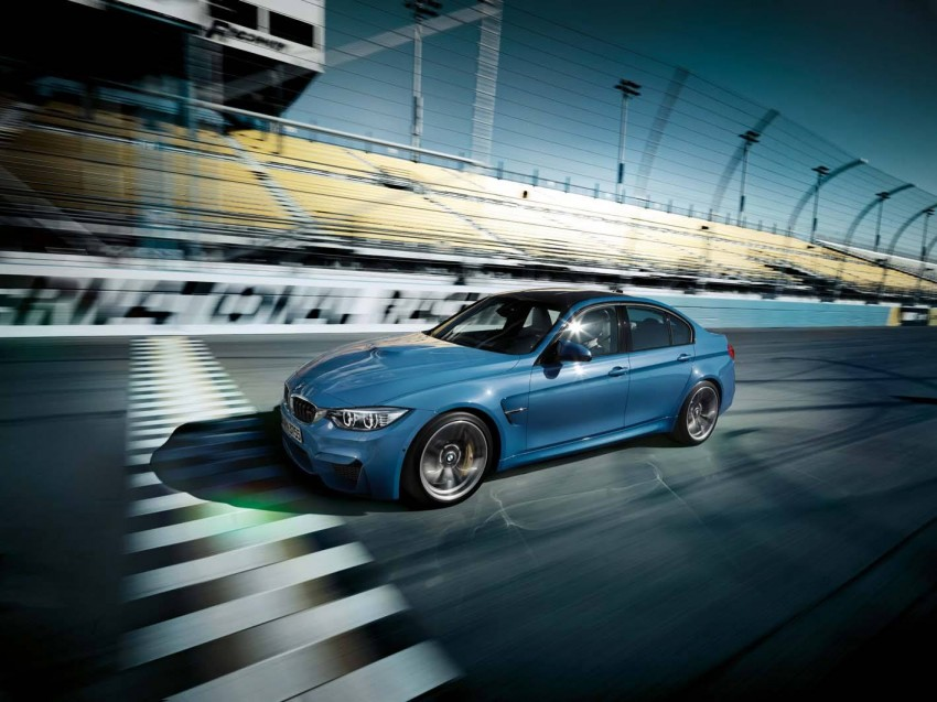 BMW M3 Sedan and M4 Coupe – full official details Image #217599