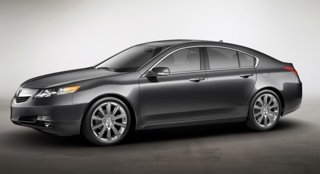 2015 acura tlx prototype to debut in detroit. Black Bedroom Furniture Sets. Home Design Ideas