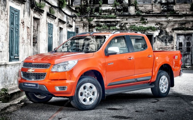 2014 Chevrolet Colorado launched in Thailand, new Duramax ...