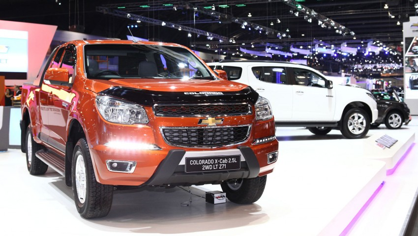 2014 Chevrolet Colorado launched in Thailand – new Duramax 2 engine, new 6 M/T, MyLink infotainment Image #215012