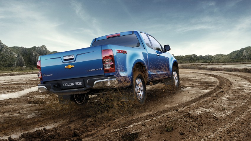 2014 Chevrolet Colorado launched in Thailand – new Duramax 2 engine, new 6 M/T, MyLink infotainment Image #215018