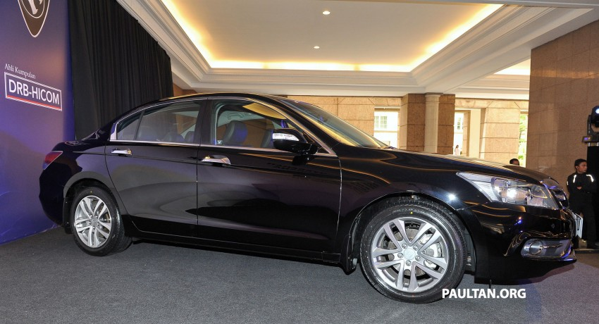 New Proton Perdana based on eighth-gen Honda Accord handed over – PM gets a stretched version! Image #216908